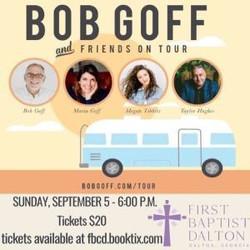 Bob Goff and Friends Bus Tour