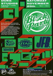 Bombstrikes Block Party with Jfb and Utah Saints
