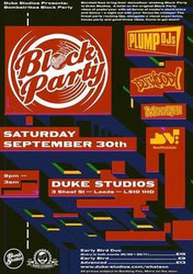 Bombstrikes Block Party with Plump DJs and Dj Woody