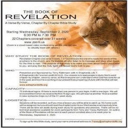 Book of Revelation Bible Study Verse by Verse 22 Chapters 9.22.20 - End Times Study - Prophesy