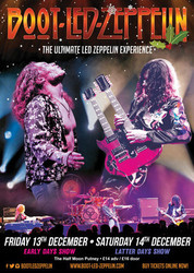 Boot Led Zeppelin Early Days Show Live at The Half Moon Putney Fri 13 Dec