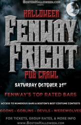 Boston Fenway Fright Night Halloween Bar Crawl - October 31, 2020