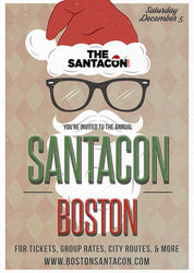 Boston Fenway SantaCon Bar Crawl - December 2020