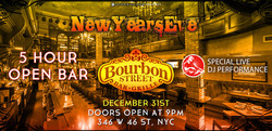 Bourbon Street Dinner (5pm to 7pm)
