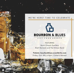 Bourbon and Blues Whiskey and Bourbon Tasting