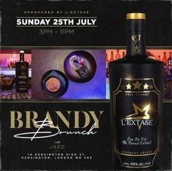 Brandy Brunch At Jako London In Kensington (Sunday 25th July, 15:00-23:00)