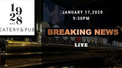 Breaking News Live Concert- 1928 Eatery & Pub
