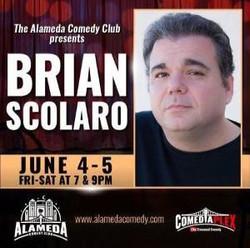 Brian Scolaro at the Alameda Comedy Club