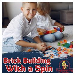 Brick Building with a Spin