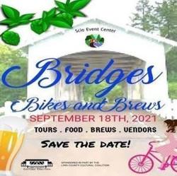 Bridges, Bikes and Brews - September 18th 2021- Linn County Lamb and Wool Fairgrounds, Scio, Oregon