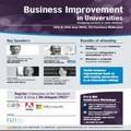 Business Improvement in Universities