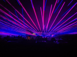 Cabin Fever Drive-in Laser Light Show