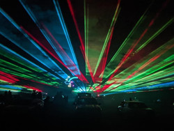 Cabin Fever Drive-in Laser Show