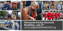 Calgary Stampede Parade Gourmet Breakfast! Bleacher Seating. Tickets