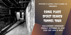 Canal Place Spirit Search Tunnel Tour