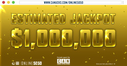 Canucks 50/50 $1 Million Super Jackpot