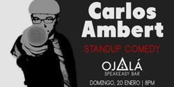 Carlos Ambert en Ojalá Speakeasy Bar