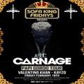 Carnage @ Royale, 2.19.16, 10:00 Pm, 21+