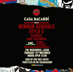 Casa Bacardí x Clarks - Newham Generals, Stylo G + more - Free Entry