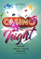 Casino Night at the Zoo