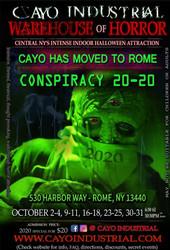 Cayo Industrial Horror Realm - October Horror Maze 2020