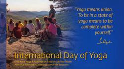Celebrate International Yoga Day in Toronto