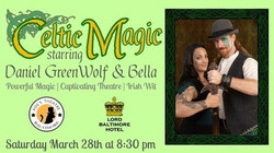 Celtic Magic with Daniel GreenWolf and Bella