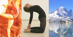 Centered Yoga By Dona Holleman Held By Francesca Petrilli In Chamonix 2020