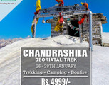 Chandrashilla Trek & Camping with Bonfire