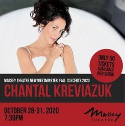 Chantal Kreviazuk at Massey Theatre