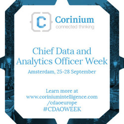 Chief Data & Analytics Officer Week, Amsterdam 2017