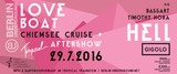 Chiemsee Cruise - Tropical Gigolo Loveboat x Dj Hell, Bassart, Timothy Hora