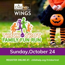 Childhelp Wings Trick or Trot