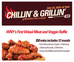 Chillin' and Grillin' - Virtual Auction - Real Meat (and Veggie) Raffle