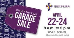 Christ the King Garage Sale