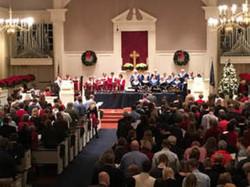 Christmas Eve at Worthington Presbyterian Church