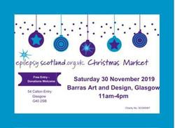Christmas Market - Epilepsy Scotland