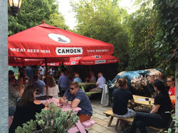 Clapham Comedy Outdoor Comedy @ Bread and Roses Beer Garden : Lloyd Griffith , Tom Deacon, Ali Cook