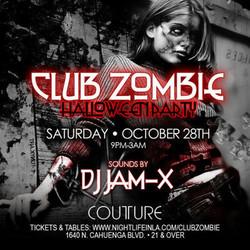 Club Zombie Halloween