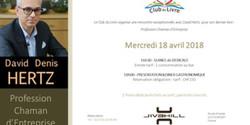Club du Livre avec David Hertz (Dédicace + Diner)
