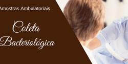 Coleta Bacteriológica - Amostras Ambulatoriais