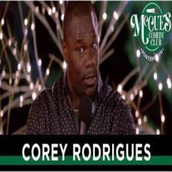 Comedian Cory Rodrigues