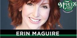Comedian Erin Maguire