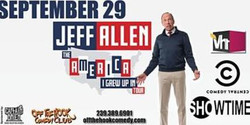 Comedian Jeff Allen The America I Grew Up In at Off The Hook Comedy Club