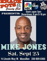 Comedian Mike Jones