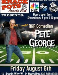 Comedian Pete George