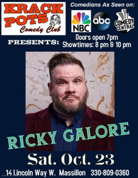 Comedian Ricky Glore
