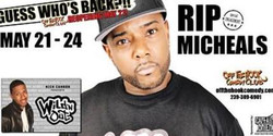 Comedian Rip Michaels Live In Naples, Fl Off The Hook Comedy Club