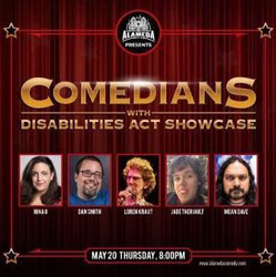Comedians with Disabilities Act Showcase