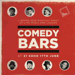 Comedy Bars @ 21 Soho : Joe Jacobs and special guests